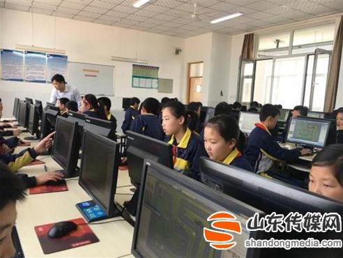 高青县举办小学信息技术优质课评选活动