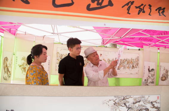 临沂罗庄:传统文化进校园 非遗博览受热捧