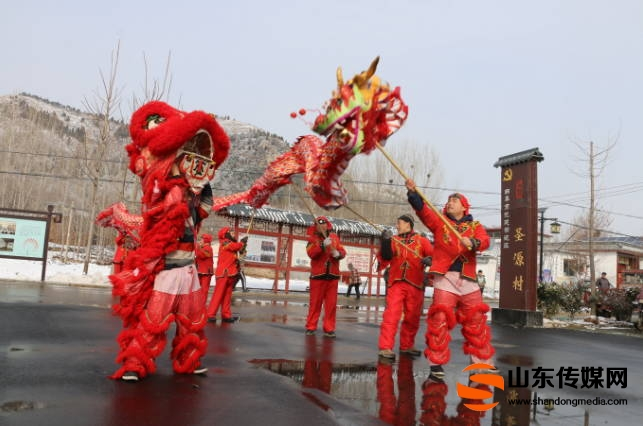 曲阜市第二届网络民俗过大年活动在尼山镇成功举行